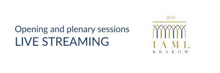 Live streaming of the opening and plenary sessions